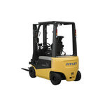 electric forklift / ride-on / for warehouses / explosion-proof