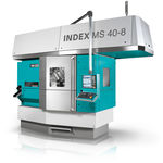 CNC lathe / 3-axis / multi-spindle / hydrostatic