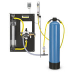 activated carbon filtration unit / for wastewater