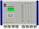 LCD display gas detection control unit / multi-channel FlexADOS 914 ADOS GmbH, Mess- und Regeltechnik