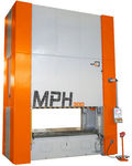 hydraulic press / PLC / frame / eccentric