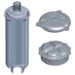 hydraulic filter / cartridge / return-line