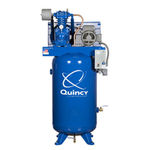 Air compressor / piston / stationary / lubricated QP series Quincy Compressor