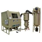 pressure blast cabinet / manual