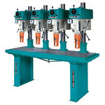 radial drill / electric / variable-speed / multi-spindle