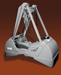 clam bucket for bulk material handling Morgan Engineering