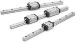 Profiled rail linear guide max. 5 m/s | LLT SKF Linear Motion