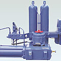 hydraulic actuator / linear / for gas / valves - max. 40 0000 Nm | GPO series