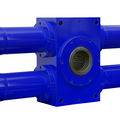 hydraulic actuator / rotary / rack-and-pinion - 350 bar, 350 000 Nm, 360° | DZK