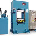 vulcanization press - 250 t