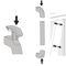 pull handle / door / aluminum