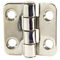 stainless steel hinge / friction / screw-in / 180°