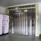 flexible strip door / PVC / industrial / access