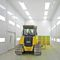 enclosed paint booth / for agricultural equipment / for metal fabrication / for aeronautical applications