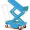 double-scissor lift table / hydraulic / mobile