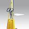 Manual stacker truck / walk-behind / winch M/E series i-lift Equipment Ltd.