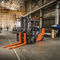 combustion engine forklift / ride-on / for warehouses / for heavy loads