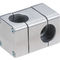 Square tube connector / cross / elbow / T Solid Clamps Ø 8-80 mm, □ 20-80 mm RK Rose+Krieger GmbH