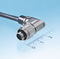 data connector / electrical power supply / micro-D / circular