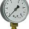 dial pressure gauge / Bourdon tube / process / for gas