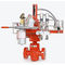 hydraulic valve actuator / rotary / bendable / double-acting