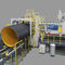 Tube extrusion line / for steel-plastic composites / for corrugated pipe / for drainage pipes DN1000, DN1800, DN3000 Sichuan Goldstone Orient New Material Equipment Co , Ltd