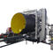 tube extrusion line / for steel-plastic composites / for corrugated pipe / double-walled