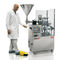 semi-automatic filler and sealer / rotary / for pharmaceutical products / for tubes