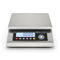 benchtop scale / with LCD display / stainless steel / hygienic