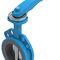 butterfly valve / pneumatic / shut-off / for hot water
