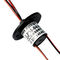 capsule slip ring / for the lighting industry / compact