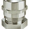 Nickel-plated brass cable gland / IP68 / IP69 / halogen-free MMSKV series WISKA Hoppmann GmbH
