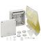 wall-mounted junction box / waterproof / halogen-free / weather-resistant