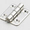 stainless steel hinge / piano / screw-in / 180°