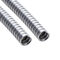protection conduit / spiral / for hoses / galvanized steel