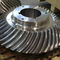 bevel gear / helical-toothed / hub