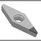 turning cutting insert / PCD / for hard and brittle materials / with chipbreaker