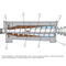 wastewater decanter / for sludge dewatering / centrifugal / horizontal