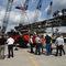 truck-mounted crane / telescopic / boom / rough terrain
