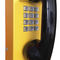 analog telephone / IP54 / for railway applications / stainless steel