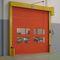 high-speed door / rolling / fabric / industrial