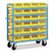 Storage cart / shelf / container / with swivel casters COMBI CH series FAMI S.R.L.