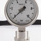 Bourdon tube pressure gauge / dial / for gas / for concrete