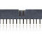 female pin header / single-row / through-hole / 2.54 mm (0.100