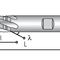 solid milling cutter / roughing / HSS/HSCO / with cylindrical shank