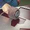 handheld sander-polisher / pneumatic / brush / lightweight