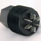 electrical cable feedthrough / hermetically-sealed / high-voltage / vacuum