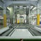 roller conveyor / chain / for pallets / horizontal