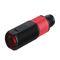 polarized retroreflective photoelectric sensor / cylindrical / LED / red light