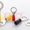 ring solderless terminal / tubular / insulated / copper
